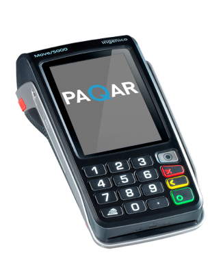 PaQar Pinapparaten - Ingenico Move 5000 WiFi